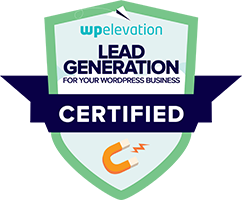 Lead Generation Certified Badge